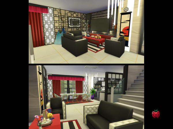 Deborah house by melapples at TSR image 10120 Sims 4 Updates