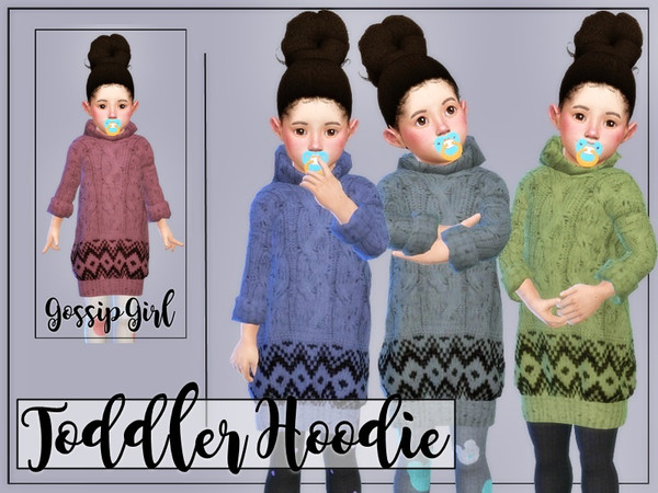 Sims 4 Toddler Hoodie by GossipGirl at TSR