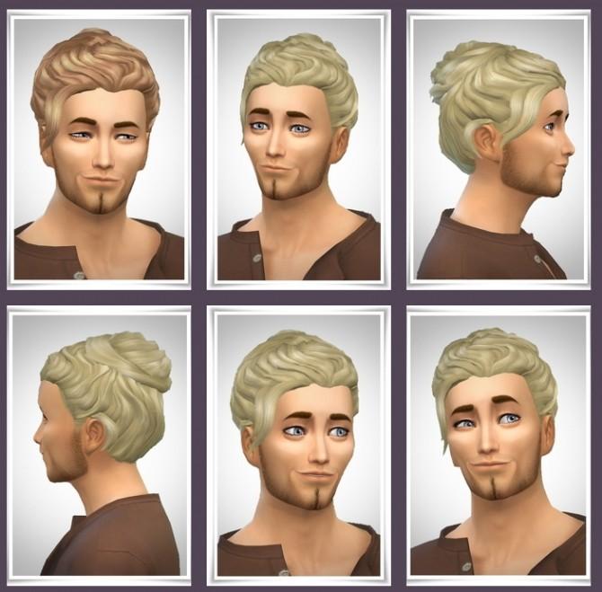 Sims 4 Grayson Hair at Birksches Sims Blog