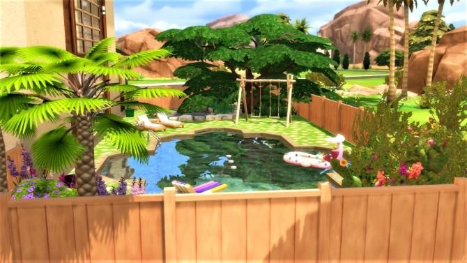 Sims 4 Blooming Cactus Villa at Agathea k