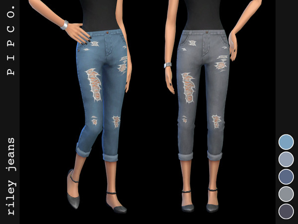 Riley jeans by Pipco at TSR image 10417 Sims 4 Updates
