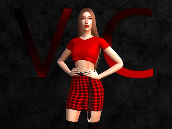 Sims 4 Shirt II by Viy Sims at TSR