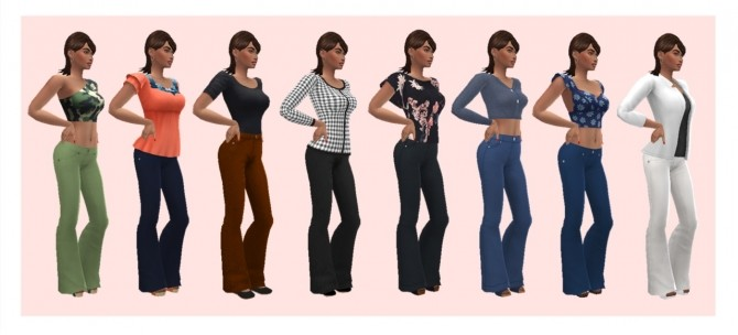 SP03 BELL BOTTOMS at Sims4Sue image 1066 670x304 Sims 4 Updates