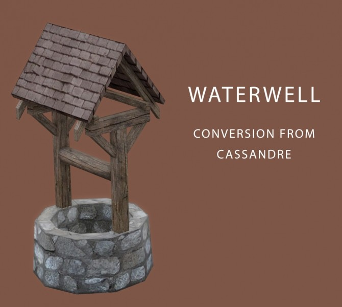 Waterwell at Leo Sims image 1067 670x600 Sims 4 Updates