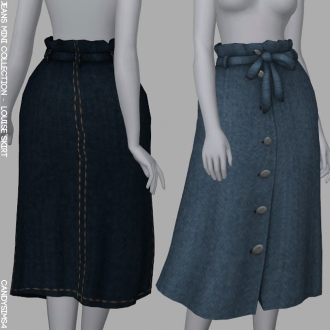 Sims 4 JEANS MINI COLLECTION PART. 2 at Candy Sims 4