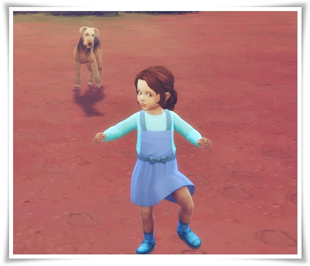 Sims 4 Lacey Hair Toddler version at Birksches Sims Blog