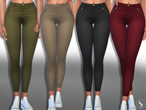 Casual Zipper Pants by Saliwa at TSR image 11017 Sims 4 Updates