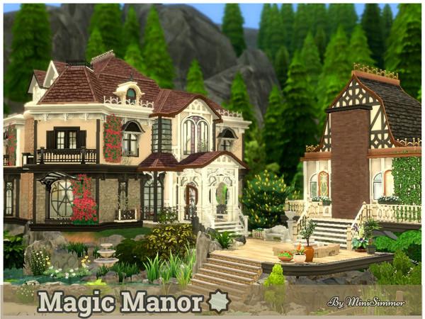 Sims 4 Magic Manor by Mini Simmer at TSR