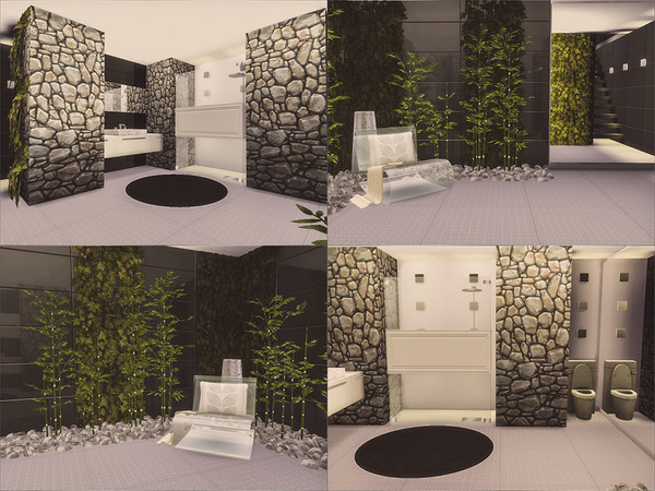 Sims 4 Modern Cottage by Caroll91 at TSR