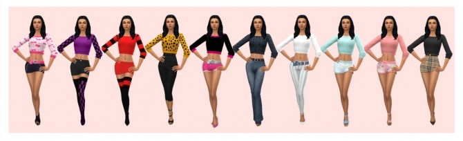 Sims 4 GP08 CROPPED SWEATER at Sims4Sue