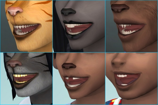 Sims 4 Snouts for Sims by CatmumCadence at Mod The Sims