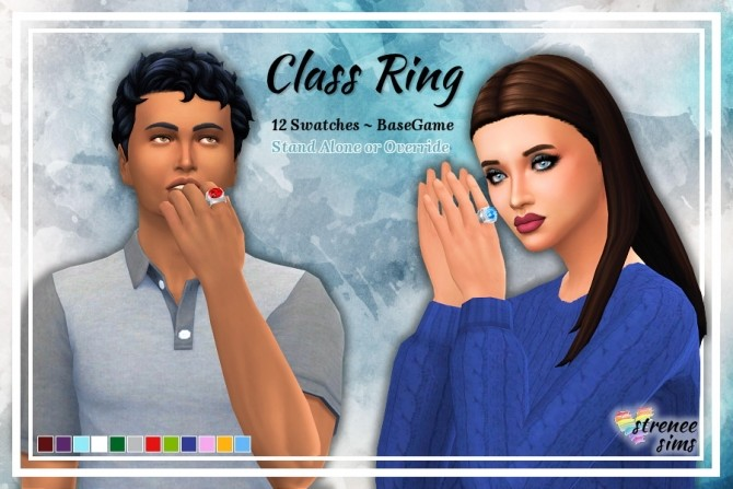 Class Ring at Strenee Sims image 1146 670x447 Sims 4 Updates