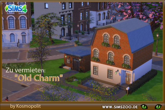Old Charm house by Kosmopolit at Blacky's Sims Zoo image 11615 Sims 4 Updates