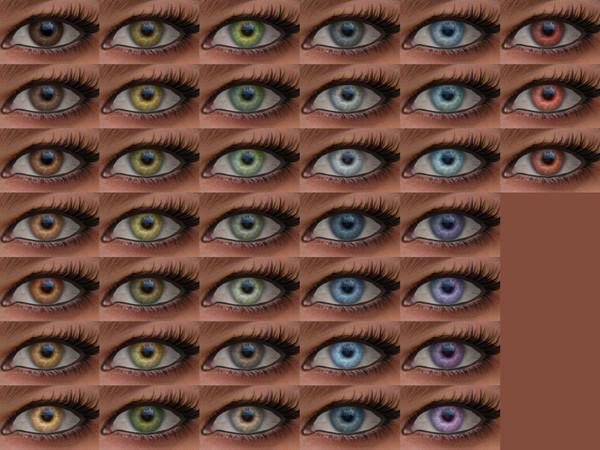 Sims 4 Electro Eyes 15 HQ at Alf si