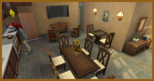 Sims 4 Old Charm house by Kosmopolit at Blacky's Sims Zoo