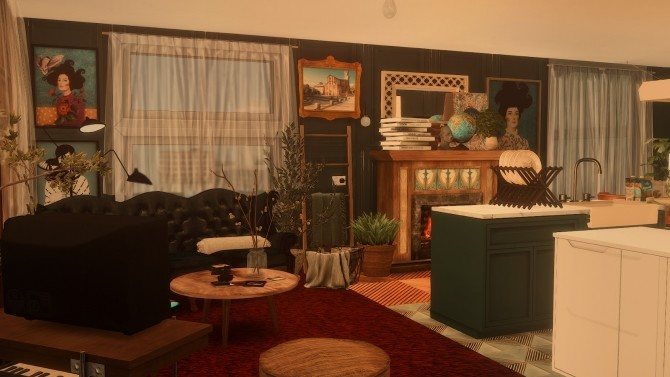85   WHIMSICAL APARTMENT 702 ZENVIEW at SoulSisterSims image 1187 670x377 Sims 4 Updates