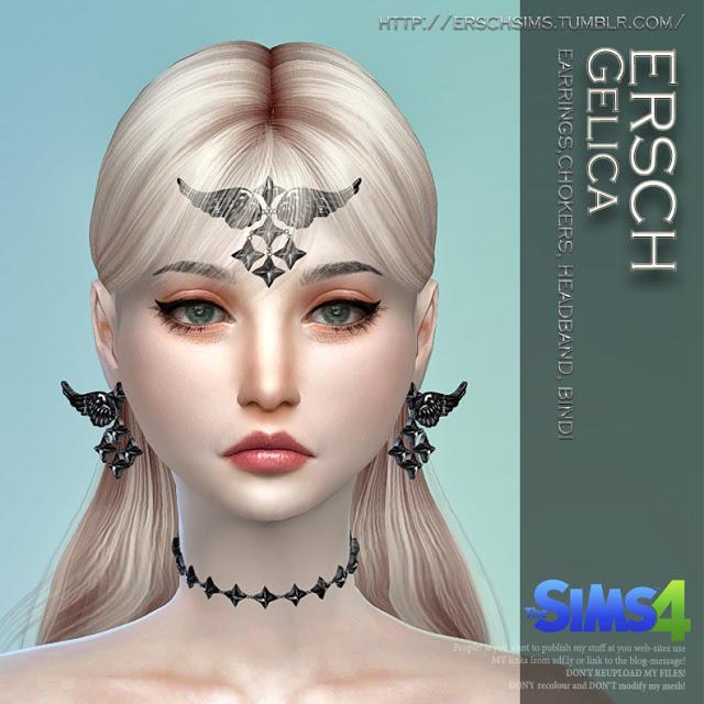 Sims 4 Gelica Set at ErSch Sims