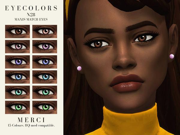 Sims 4 Eyecolors N28 by Merci at TSR