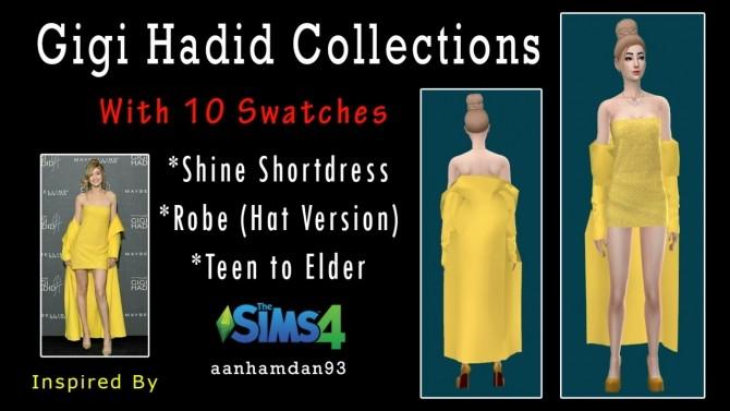 Sims 4 Gigi Hadid Collections at Aan Hamdan Simmer93