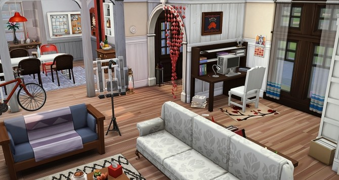 Au Fringant Destrier house by Rope at Simsontherope image 12210 670x355 Sims 4 Updates