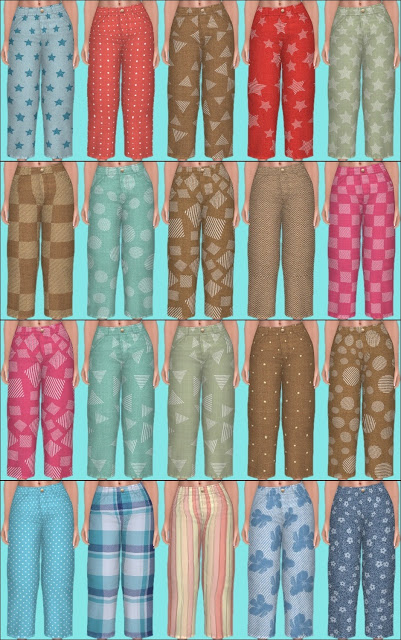 Sims 4 Discover University Clothes Recolors Part 2 at Annett's Sims 4 Welt