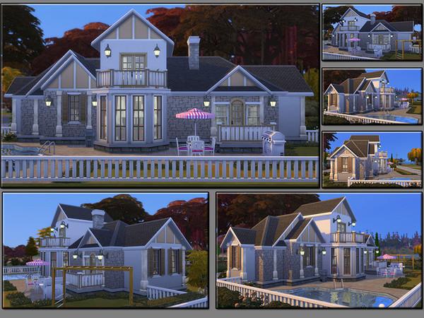 MB Elongated Draft family home by matomibotaki at TSR image 1227 Sims 4 Updates
