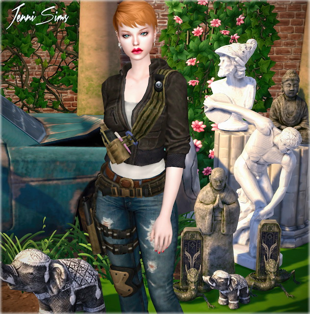 Decorative Statues 7 Items at Jenni Sims image 1228 Sims 4 Updates