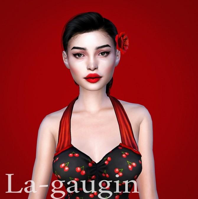 Sims 4 Winny: a rockabilly girl at La Gaugin