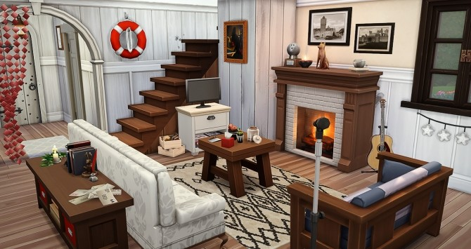 Au Fringant Destrier house by Rope at Simsontherope image 1238 670x355 Sims 4 Updates