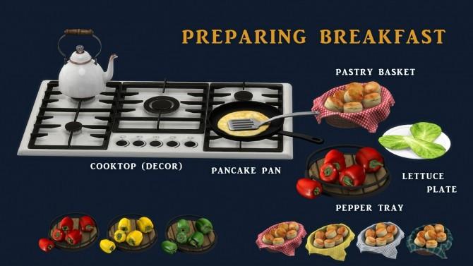 Preparing Breakfast set (P) at Leo Sims image 1242 670x377 Sims 4 Updates