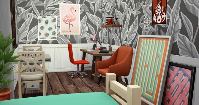 Au Fringant Destrier house by Rope at Simsontherope image 1248 670x355 Sims 4 Updates