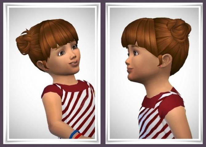 Sims 4 Ellie Hair Toddler vers. at Birksches Sims Blog