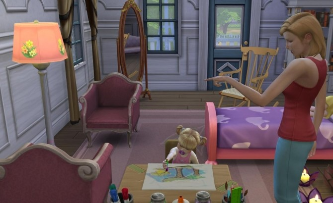 Sims 4 Toddlers can use Activity Table by Sofmc9 at Mod The Sims