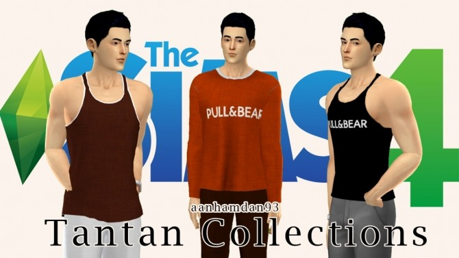 Sims 4 Tantan Male Collections at Aan Hamdan Simmer93
