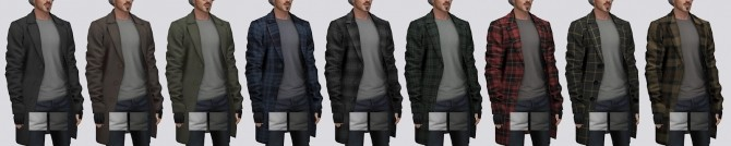 Wool Overcoat with T shirt (P) at Darte77 image 12910 670x134 Sims 4 Updates