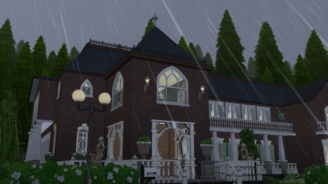 Sims 4 Witch's Mansion at ArchiSim