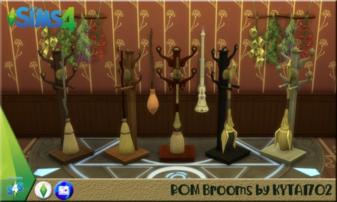 Magic Brooms with standard at Simmetje Sims image 1292 670x402 Sims 4 Updates
