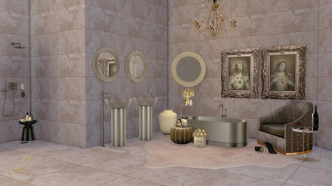 Bathroom Set by lavi3enrose at Blooming Rosy image 1296 670x377 Sims 4 Updates