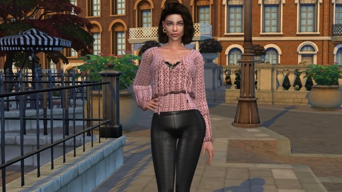 Sims 4 Fabiana by Elena at Sims World by Denver