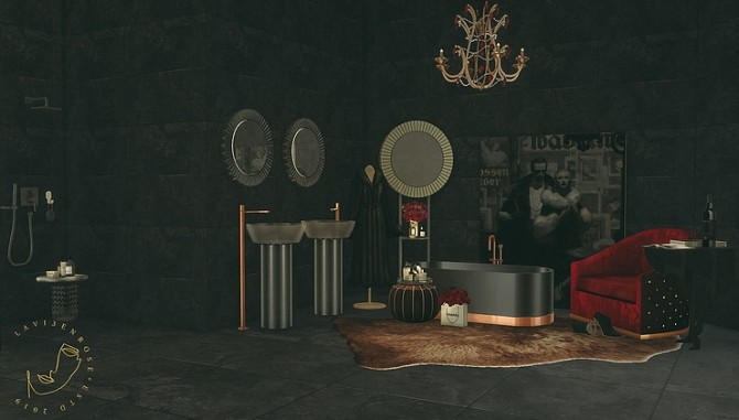 Bathroom Set by lavi3enrose at Blooming Rosy image 1306 670x381 Sims 4 Updates