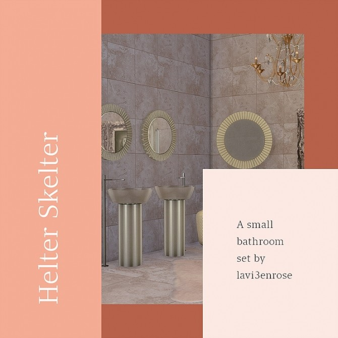 Bathroom Set by lavi3enrose at Blooming Rosy image 13111 670x670 Sims 4 Updates
