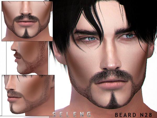 Sims 4 Beard N28 by Seleng at TSR