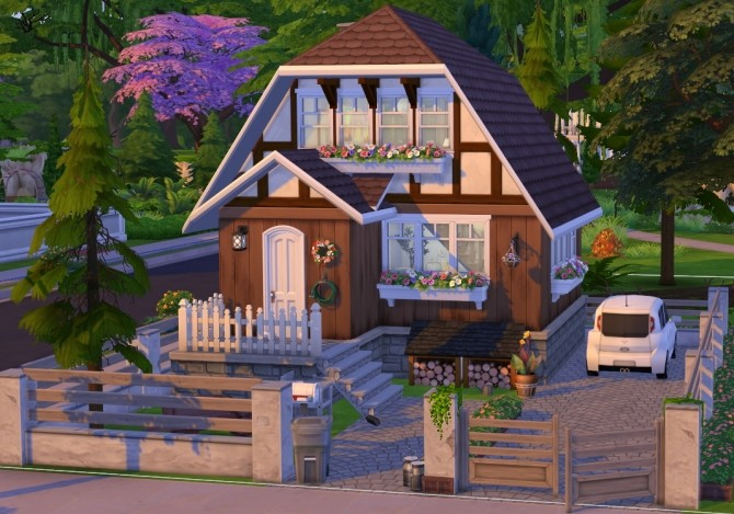 Black forest starter house at Fab Flubs image 1316 670x469 Sims 4 Updates