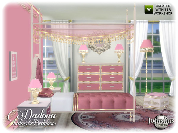 Dadona kids bedroom by jomsims at TSR image 13217 Sims 4 Updates