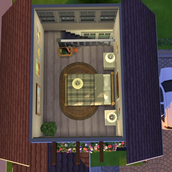 Black forest starter house at Fab Flubs image 1323 670x669 Sims 4 Updates