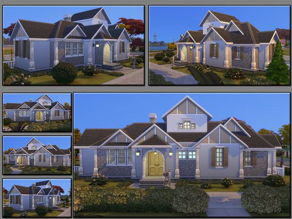 MB Elongated Draft family home by matomibotaki at TSR image 1326 Sims 4 Updates