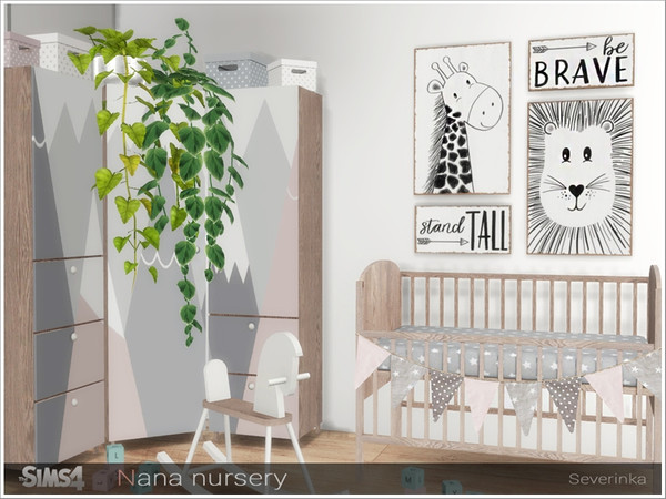 Nana nursery by Severinka at TSR image 13314 Sims 4 Updates