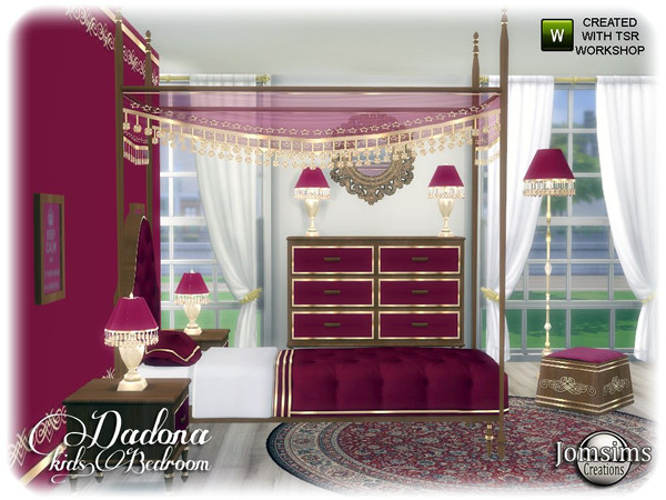 Dadona kids bedroom by jomsims at TSR image 13316 Sims 4 Updates
