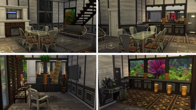 Tropical Villa no CC at Tatyana Name image 1332 670x377 Sims 4 Updates