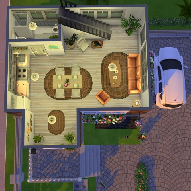 Black forest starter house at Fab Flubs image 1333 670x671 Sims 4 Updates